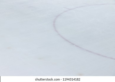 ice hockey floor surface background and texture in winter time, ice rink sport ground.