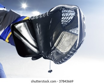 ice hockey goalies glove