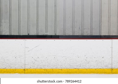 Ice Hockey Rink Wall
