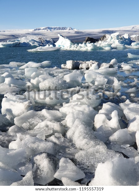 Ice and icebergs in Iceland