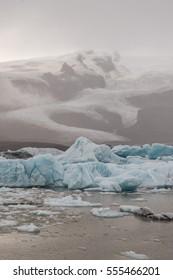 ice at Jokulsarlon Glacial lagoon, Iceland