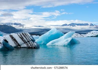 Ice lagoon Jokulsarlon