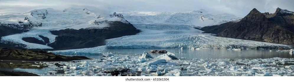 Ice lagoon Jokusarlon