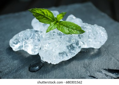 ice and mint