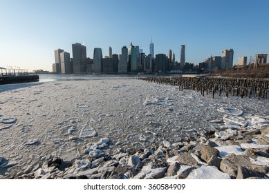 Ice on the East River
