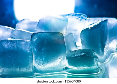 Ice refreshment to get cold drink