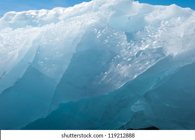 Ice relief background