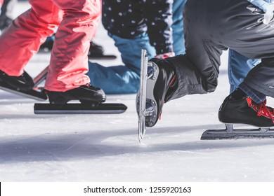 ice skate, children