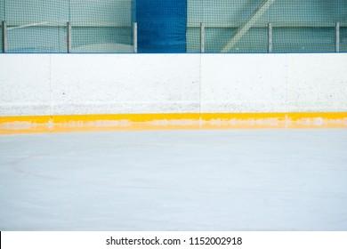 Ice skating hall