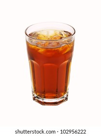 Ice Tea isolated on white background