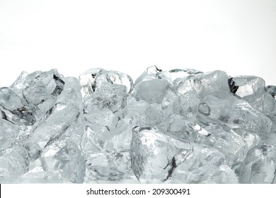 Ice texture as a background