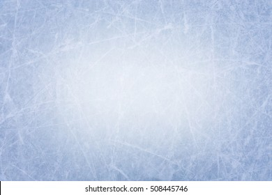 Ice texture background with white center