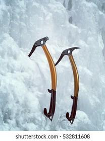 Ice tool.