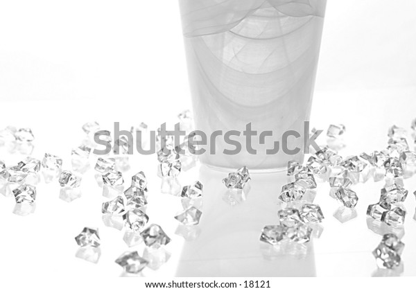 Ice and Vase