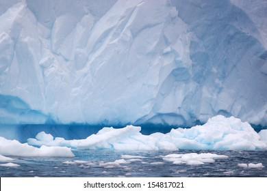 Iceberg in Antarctica, west coast of antarctic peninsula