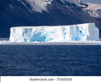 Iceberg Cape Adare Antarctica