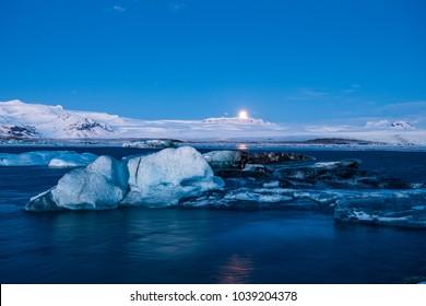 iceberg at icelander diamond beach