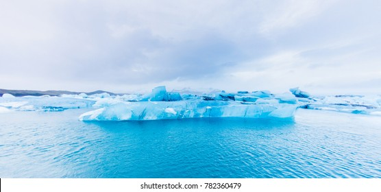 Iceberg in Jokulsarlon lagoon, Iceland