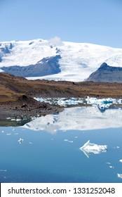iceberg in jokulsarlon lake in Iceland