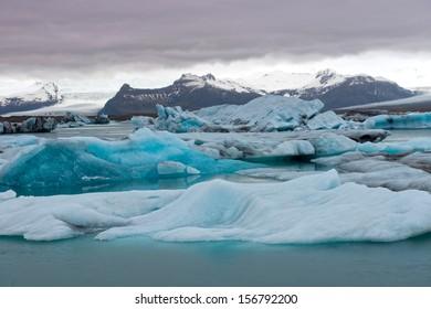 Iceberg Lagoon, Jokulsarlon, Iceland
