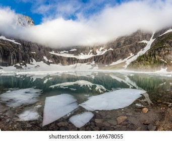 Iceberg Lake Trail Images, Stock Photos & Vectors | Shutterstock