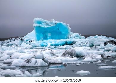 Iceberg near Jokulsarlon