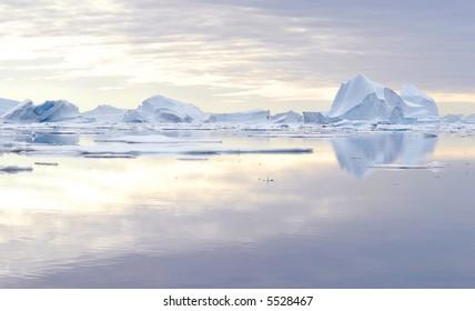 Iceberg - Northeast Greenland National Park