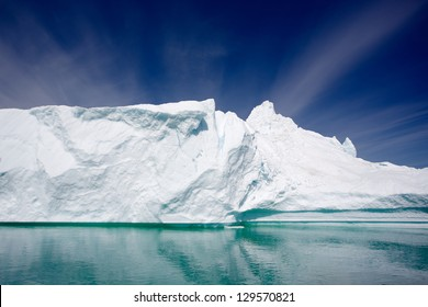 Iceberg in Qooroq Icefjord in South Greenland
