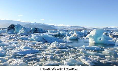 Iceberg sea, Iceland