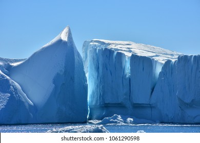 icebergs of Artic.
