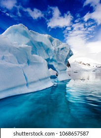 Icebergs are just pieces of a glacier that has fallen into the sea.
