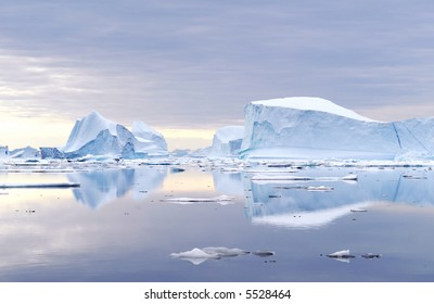 Icebergs - Northeast Greenland National Park