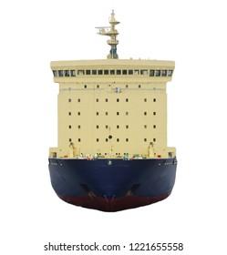 icebreaker ship isolated
