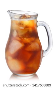 Iced Tea Pitcher or Jug, isolated