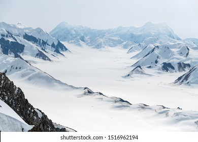 Icefields in Kluane National Park, Yukon, Canada
