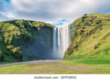 Sk�³gafoss in iceland