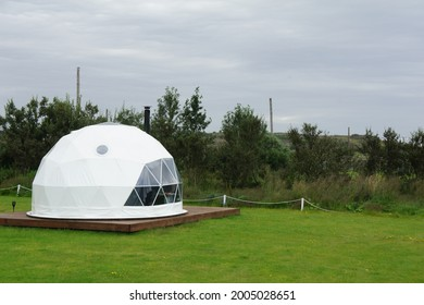 Iceland dome bubble tent outdoor