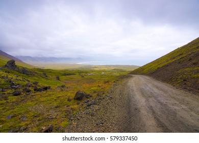 Iceland, highland road