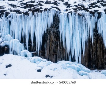 Iceland - Huge Icicles