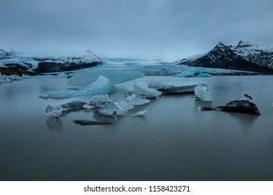 Iceland, ice, lake, water, blue