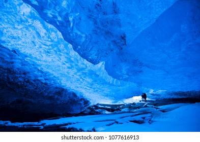 Iceland icecave tour super jeep tour super blue Vatnajokull National park