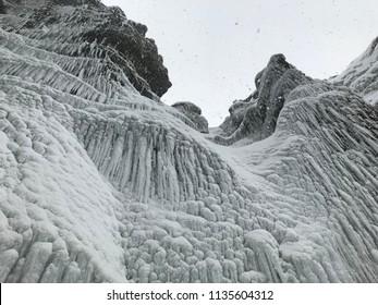 Iceland iced skyfall