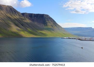 Iceland Isafjordur Landscape