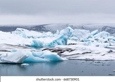 Iceland Jokulsarlon iceberg lagoon