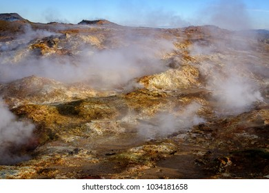 Iceland landscape in Autumn