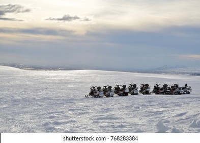 Iceland Langjokull golden circle snowmobile winter