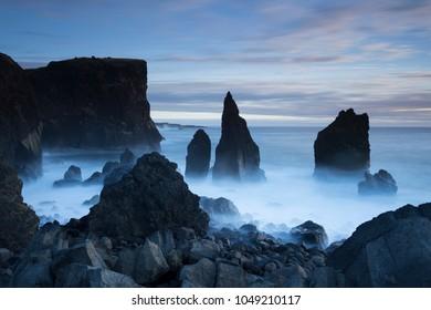 Iceland sea landscape
