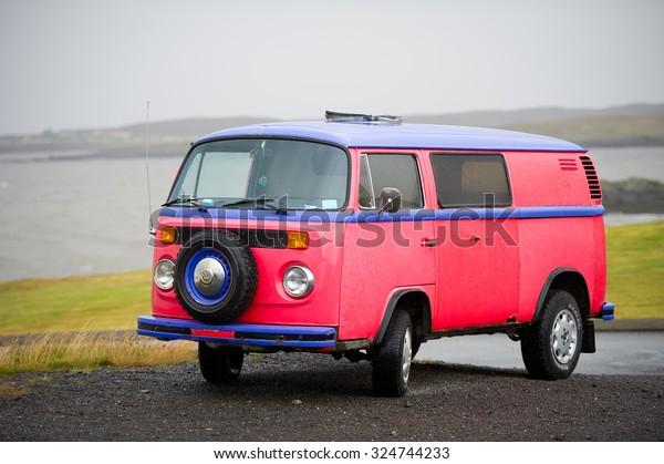 Vw Bus 2015 >> Iceland September 10 Vw Bus Volkswagen Stock Photo Edit Now