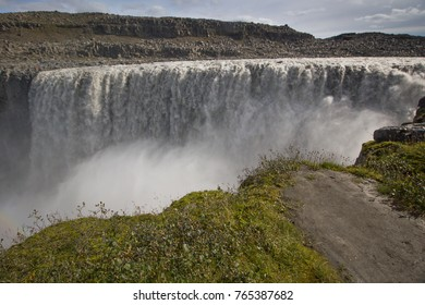 Iceland (Summer), the imposing and wonderful waterfall of Dettifoss