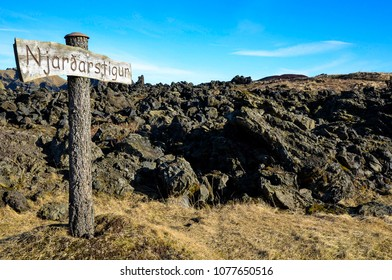 Iceland Vestmannaeyjar Westman Islands Heimaey island landscape